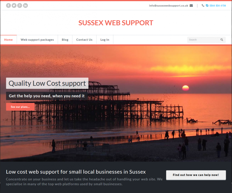 Sussex Web Support